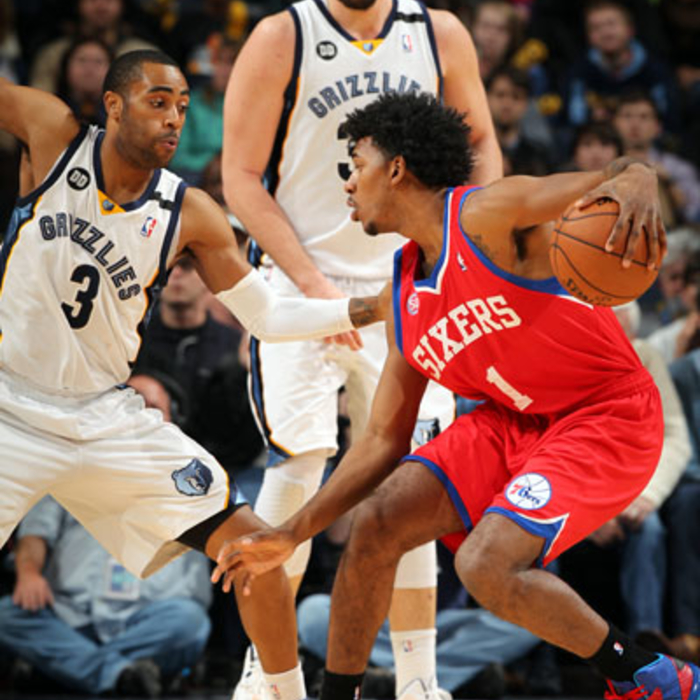 Grizzlies vs. Sixers: 12/26/12
