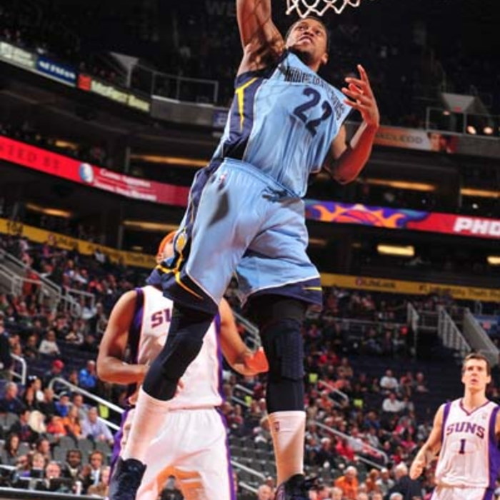 Grizzlies at Suns - 1/4/13