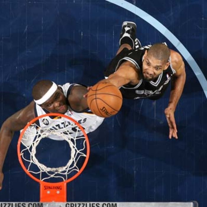 Grizzlies vs. Spurs - 1/11/13