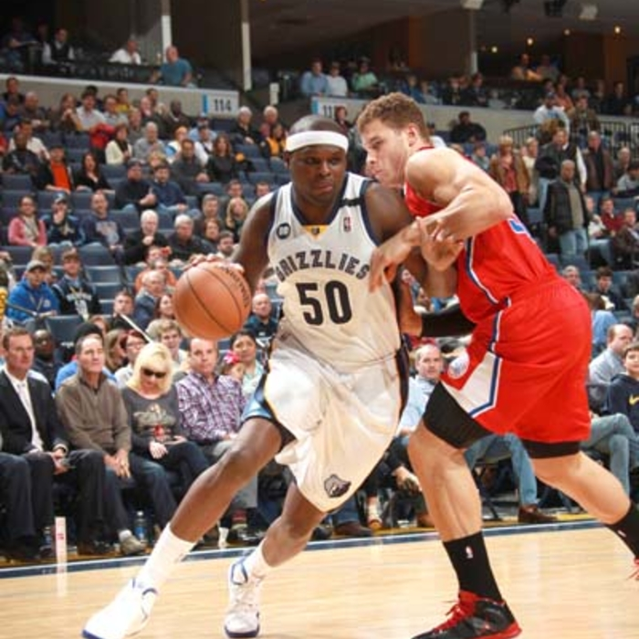 Grizzlies vs. Clippers - 1/14/13