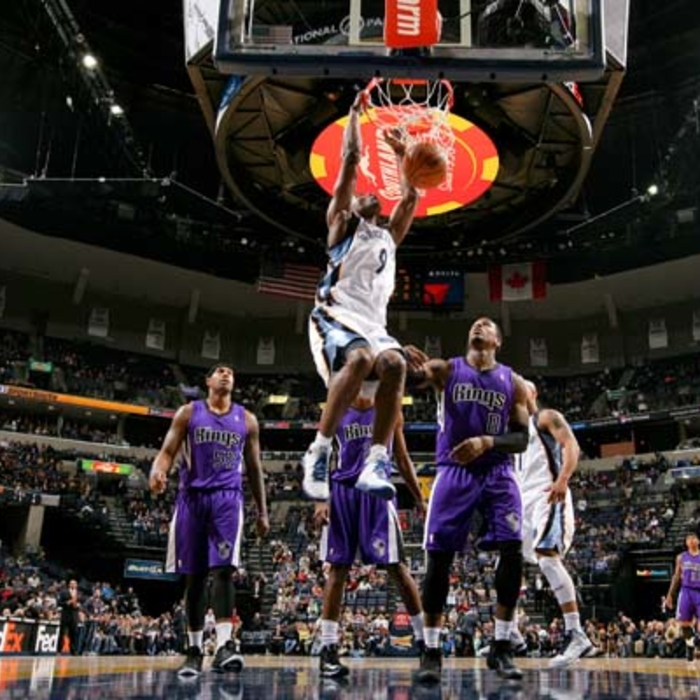 Grizzlies vs. Kings - 1/18/13