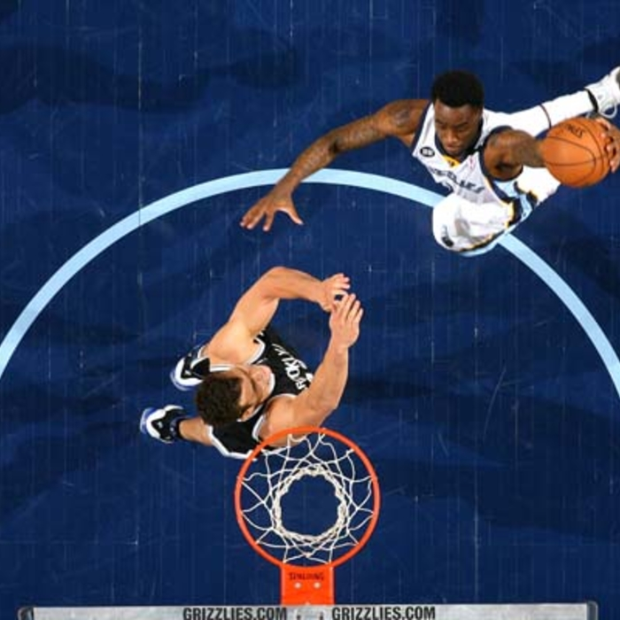 Grizzlies vs. Nets- 1/25/13