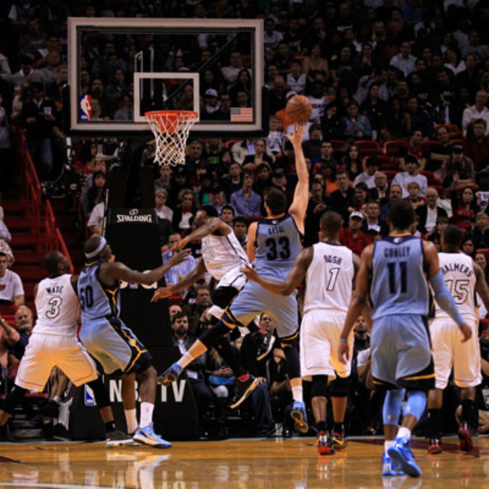 Grizzlies at Heat - 3/1/13