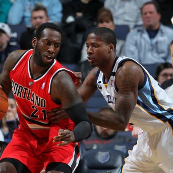 Grizzlies vs. Trail Blazers - 3/7/13