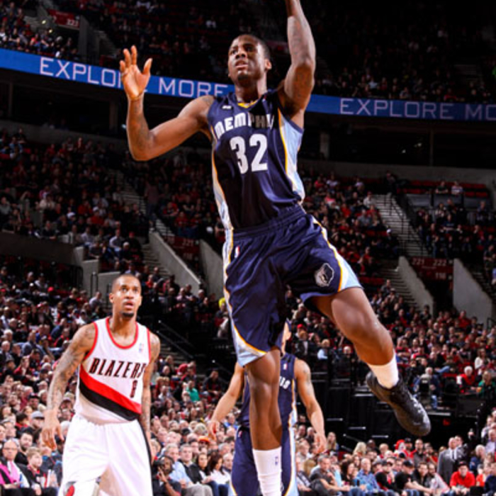 Grizzlies at Trail Blazers - 3/12/13