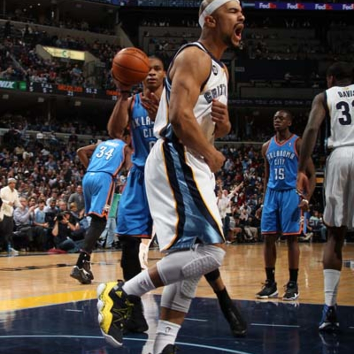 Grizzlies vs. Thunder - 3/20/13
