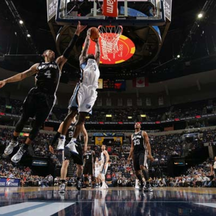 Grizzlies vs. Spurs - 4/1/2013