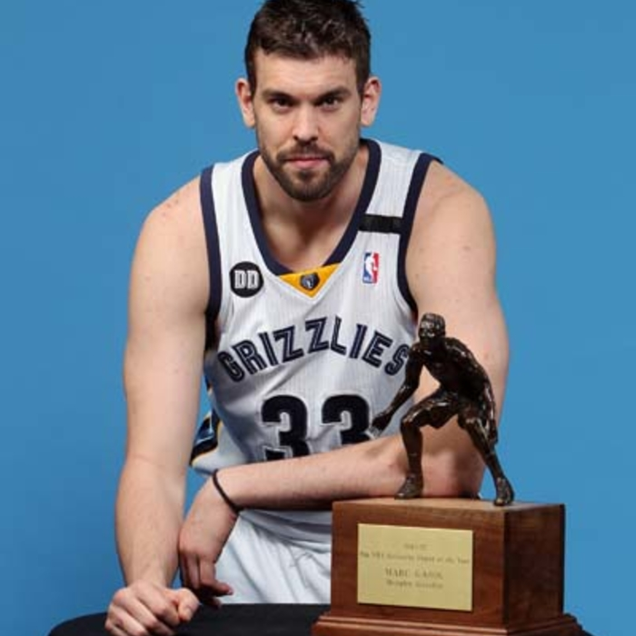 Marc Gasol: NBA Defensive Player of the Year