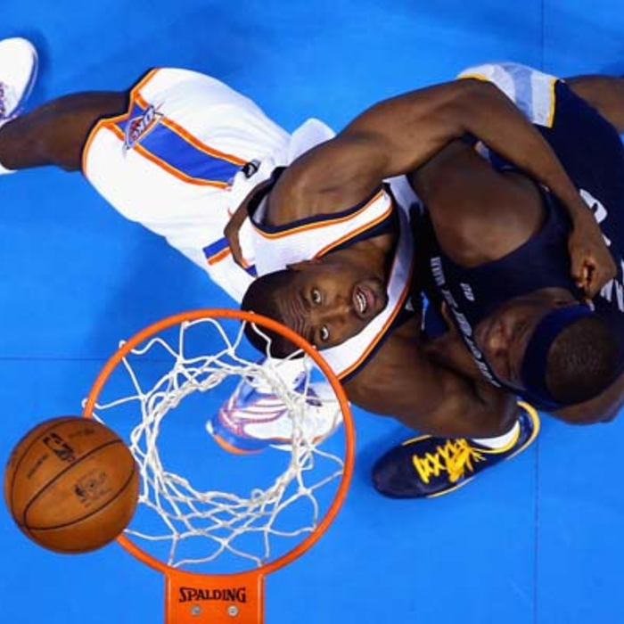 Game 1: Grizzlies at Thunder - 5/5/13: Gallery 2