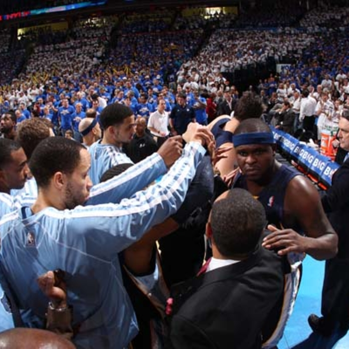 Game 2: Grizzlies vs. Thunder - 5/8/13