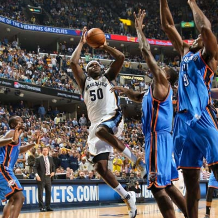 Western Conference Semifinals - Game 4: Grizzlies vs. Thunder - 5/13/13