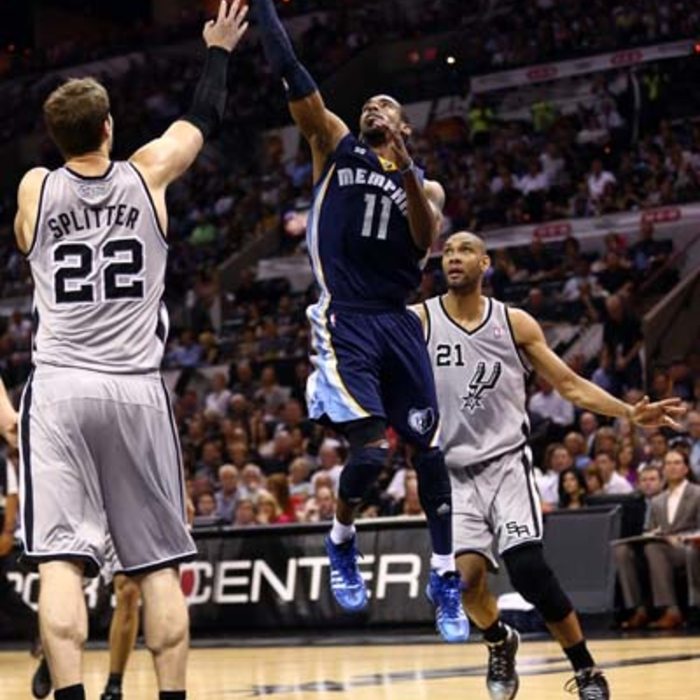 Western Conference Finals: Game 1 - Grizzlies at Spurs: Gallery 2 - 5/19/13