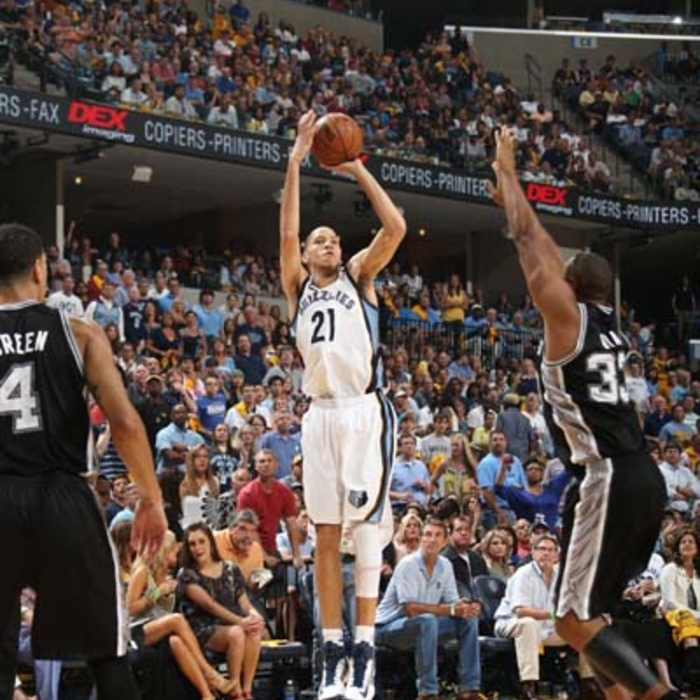 Western Conference Finals: Game 3: Grizzlies vs. Spurs - 5/25/13 Gallery 1