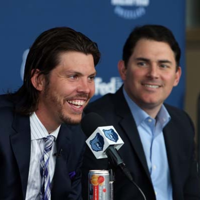 Mike Miller press conference and photo shoot