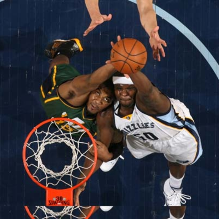 Grizzlies vs. Jazz - 3/19/14
