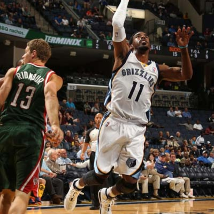 Preseason: Grizzlies vs. Bucks - 10/16/13