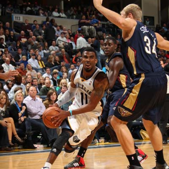 Grizzlies vs. Pelicans - 11/06/13