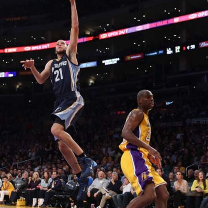 Grizzies at Lakers - 1/15/13