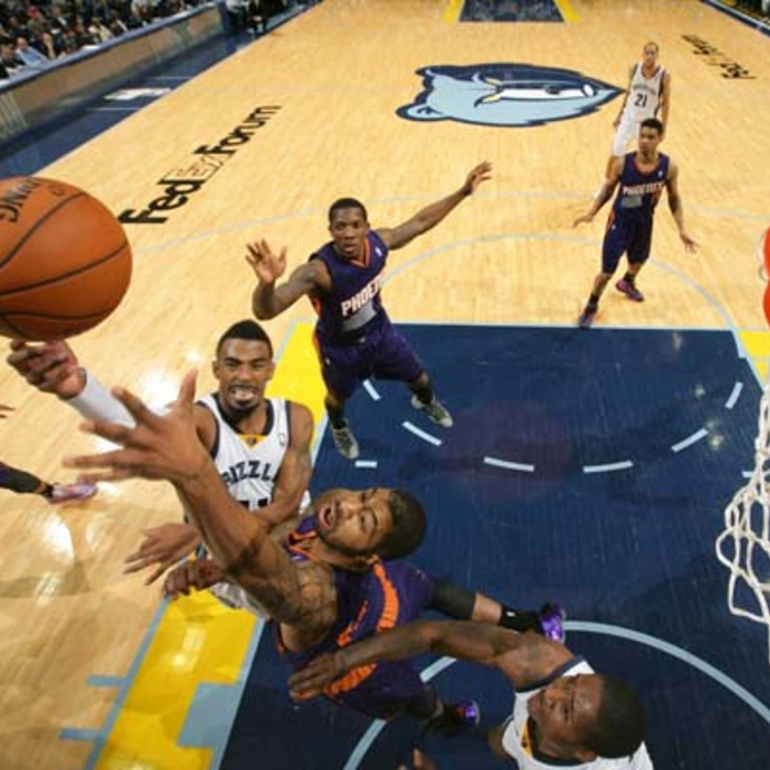 Grizzlies vs. Suns - 12/4/13