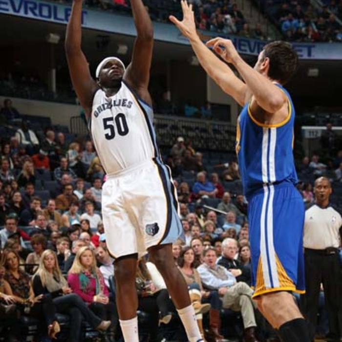 Grizzlies vs. Warriors - 12/7/13