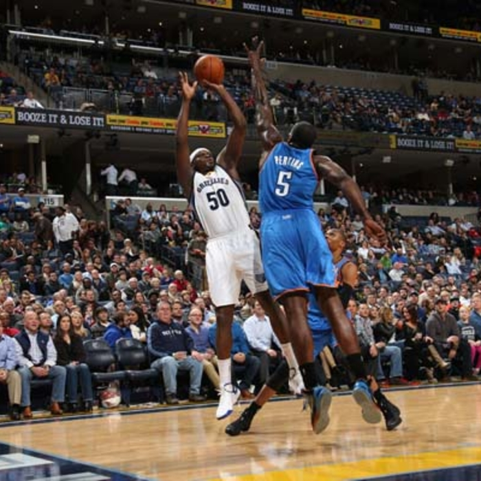 Grizzlies vs. Thunder - 12/11/13