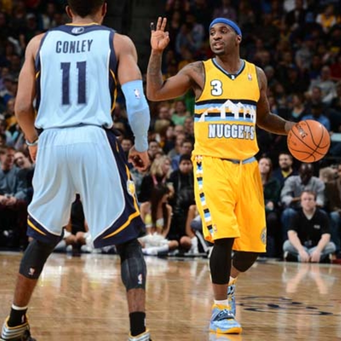 Grizzlies at Nuggets - 1/3/2014
