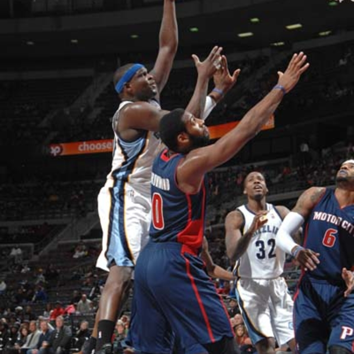 Grizzlies at Pistons - 1/5/2014