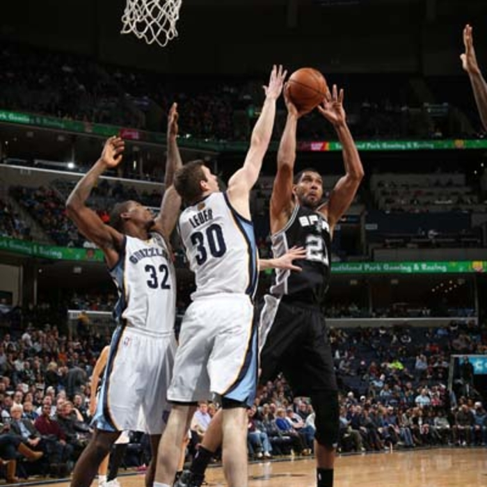 Grizzlies vs. Spurs - 1/7/13