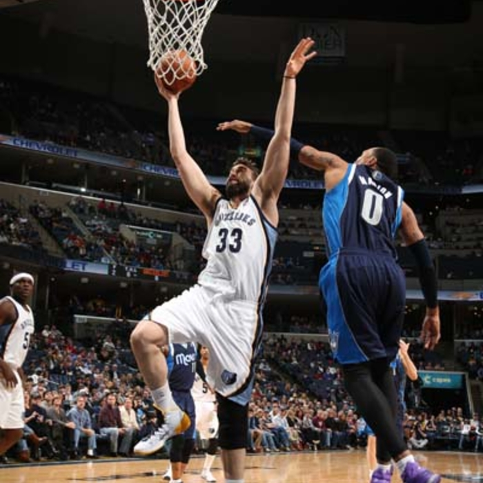 Grizzlies vs. Mavericks - 2/5/14