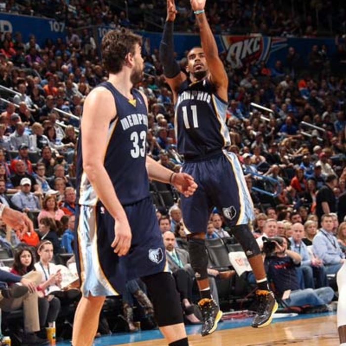 Grizzlies at Thunder - 2/28/14