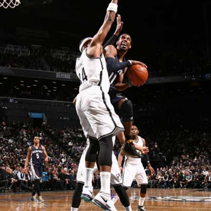 Grizzlies at Nets - 3/5/14