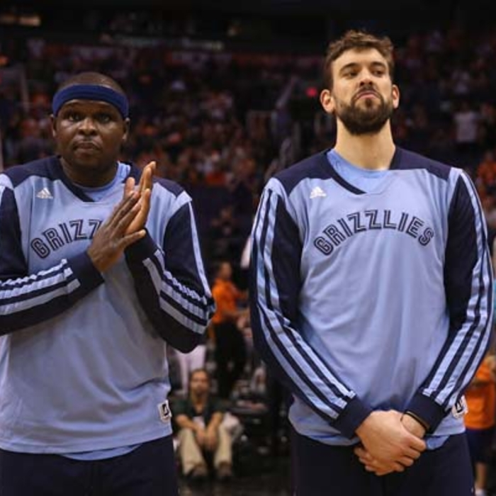 Grizzlies at Suns - 4/14/14