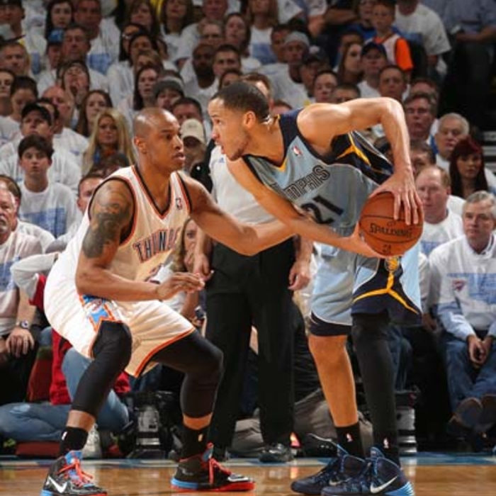 Game 5: Grizzlies at Thunder - 4/29/14