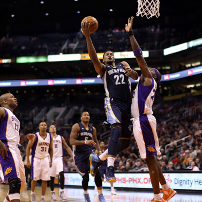 Grizzlies at Suns: 12/12/12