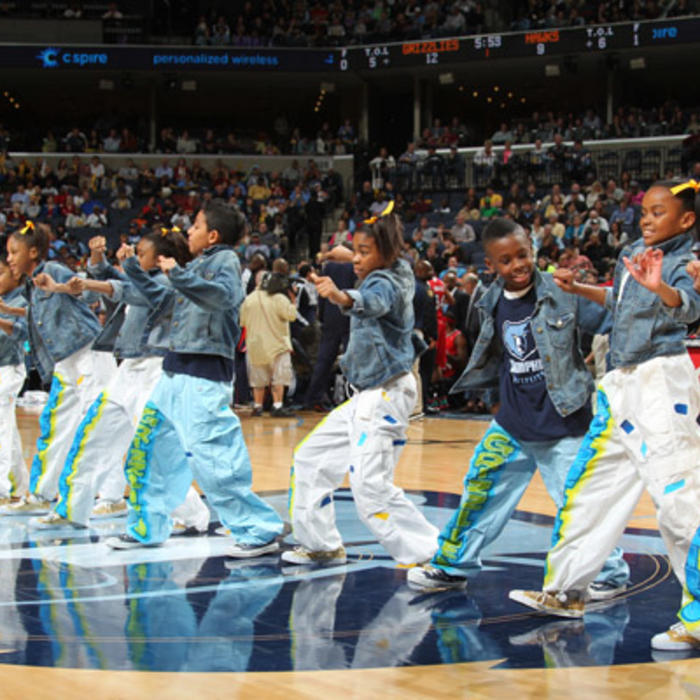 2012 Grizzlies Jr. Dance Team