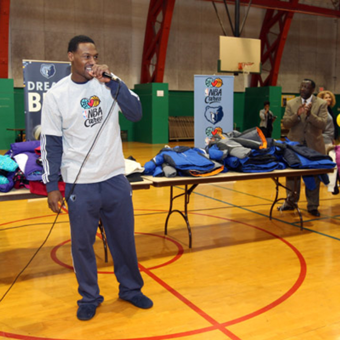 Grizzlies Season of Giving 2012 - 2