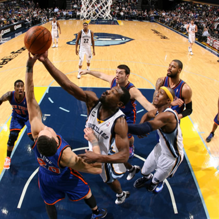 Grizzlies vs. Knicks: Gallery 2 - Jan. 12, 2011