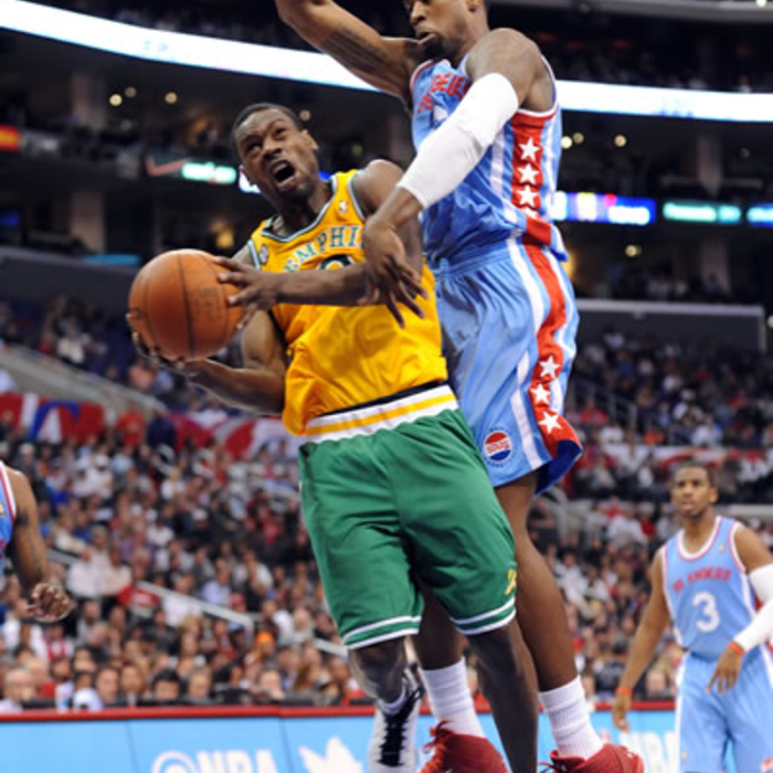 Grizzlies at Clippers: Gallery 1: Jan. 26, 2012