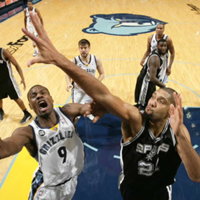 Grizzlies vs. Spurs - Jan. 30, 2012