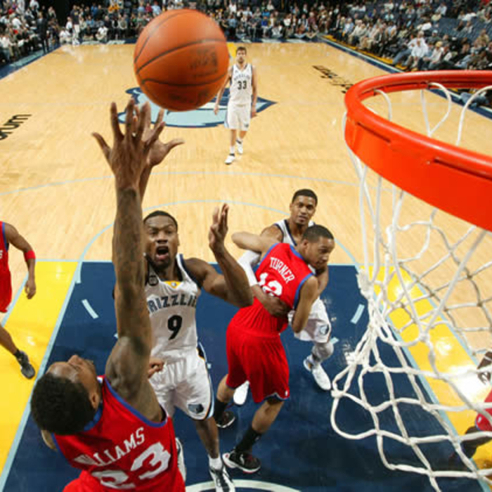 Grizzlies vs. Sixers: Gallery 1 - February 21, 2012