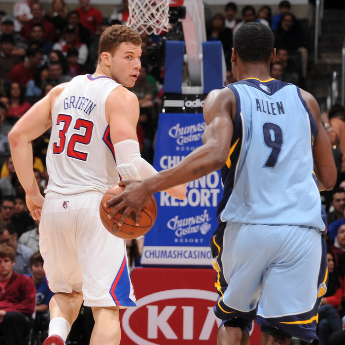Grizzlies at Clippers: March 24, 2012
