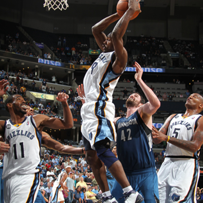 Grizzlies vs. Timberwolves: March 27, 2012: Gallery 1