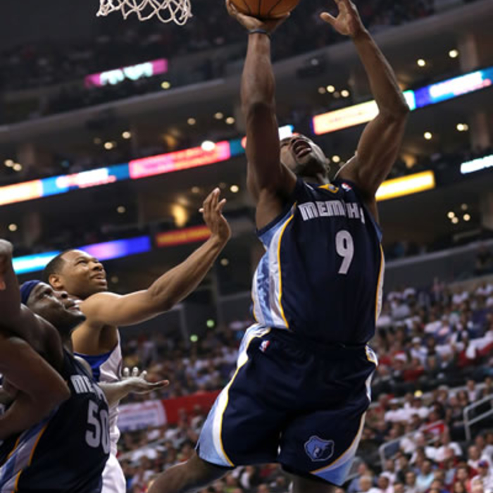 Grizzlies at Clippers - 10/31/12