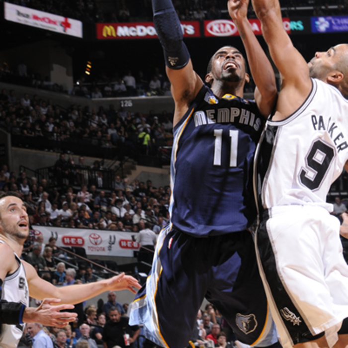 Game 2: Grizzlies at Spurs