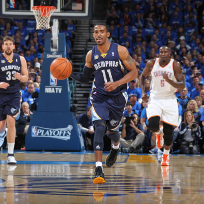 Round 2, Game 1: Grizzlies @ Thunder, Pt. 1