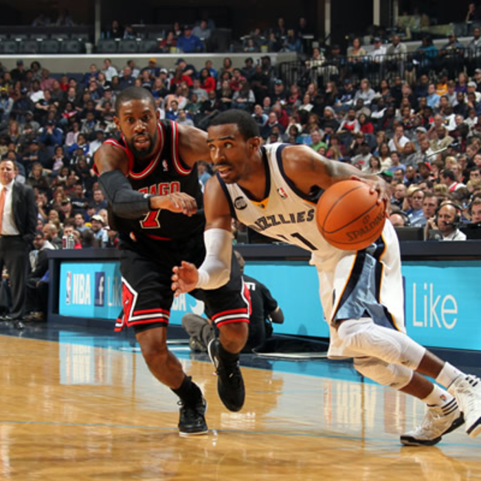 Grizzlies vs. Bulls - Gallery 2: Jan. 16, 2012