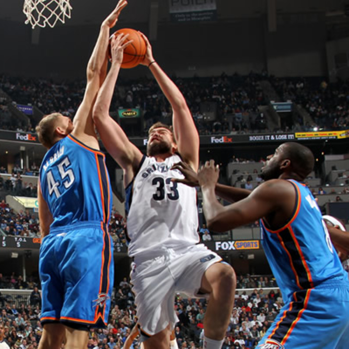 Grizzlies vs. Thunder: Gallery 2 - 12/28/11