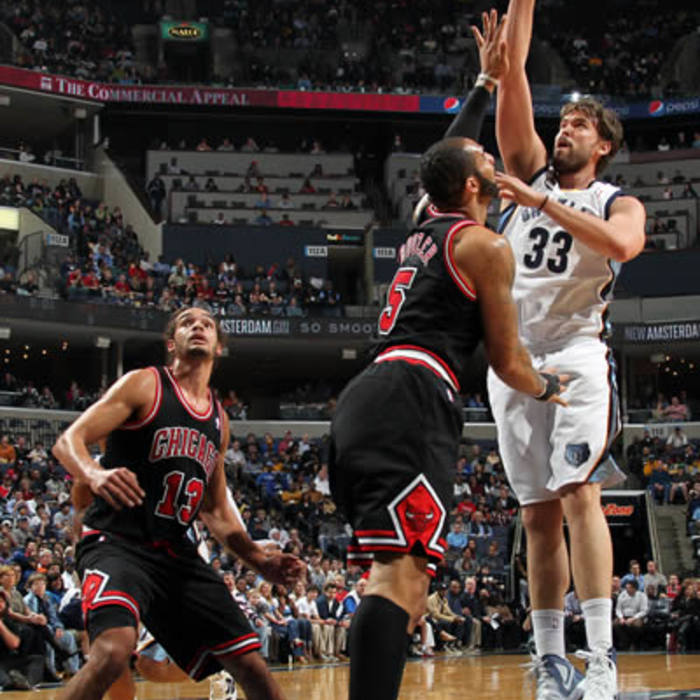 Grizzlies vs. Bulls - Gallery 1: Jan. 16, 2012