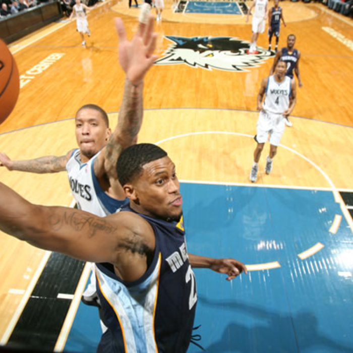 Grizzlies at Timberwolves: Gallery 1 - Jan. 4, 2012
