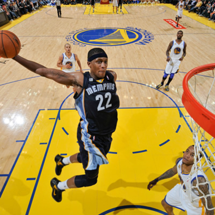 Grizzlies at Warriors - Jan. 23, 2012